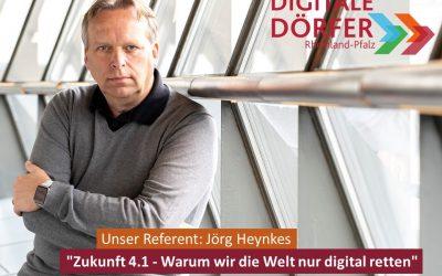 Zukunft 4.1 – Warum wir die Welt nur digital retten können?