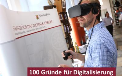 3. Netzwerkveranstaltung – 100 Gründe für die Digitalisierung